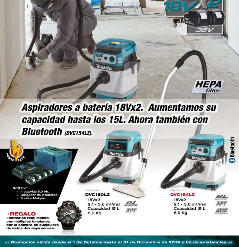 Folleto Makita otoño